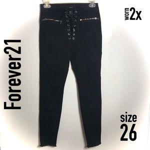 Lace Crop Jeans